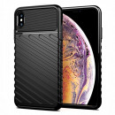 Husa iPhone XS Max Thunder Rugged TPU, Black