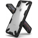 Husa iPhone X originala RINGKE Fusion X, Black