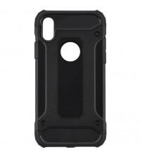 Husa iPhone XS Rigida Hybrid Shield, Black