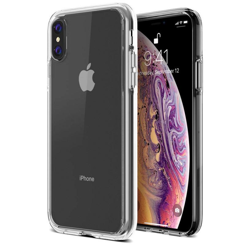 Husa iPhone XS transparenta, Huse iPhone - TemperedGlass.ro