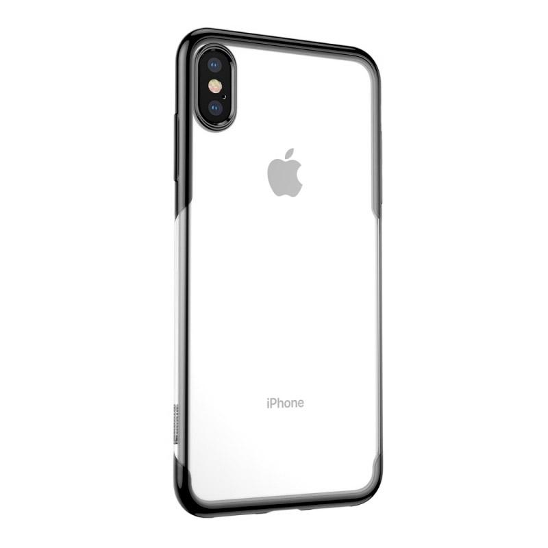 Husa iPhone XS TPU Elegance, Black - TemperedGlass.ro