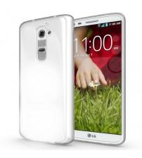 Husa LG G2 Slim TPU, Transparenta
