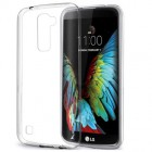 Husa LG K10 Slim TPU, Transparenta