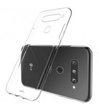 Husa LG V40 Slim TPU, Transparenta