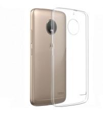 Husa Motorola Moto E5 Plus Slim TPU, Transparenta