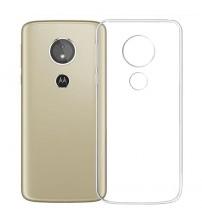 Husa Motorola Moto E5 Slim TPU, Transparenta