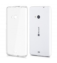 Husa Nokia Lumia 535 Slim TPU, Transparenta