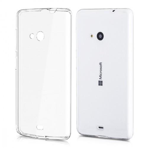 Husa Nokia Lumia 535 transparenta, Huse Nokia - TemperedGlass.ro