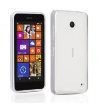 Husa Nokia Lumia 635 Slim TPU, Transparenta