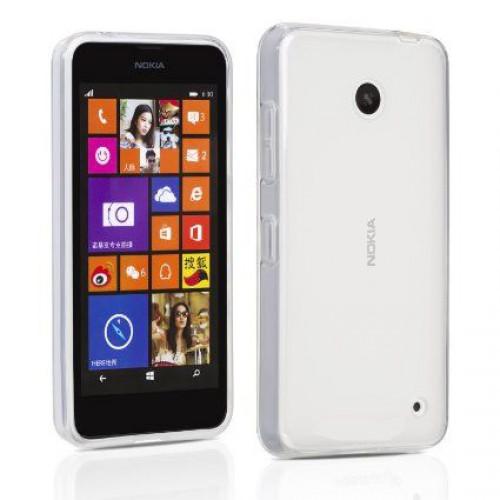 Husa Nokia Lumia 635 transparenta, Huse Nokia - TemperedGlass.ro