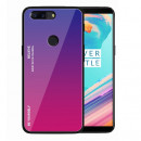Husa OnePlus 5T Gradient Glass, Blue-Purple