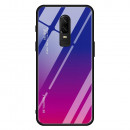 Husa OnePlus 6 Gradient Glass, Blue-Purple