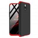 Husa OnePlus 6T GKK Full Cover 360, Black-Red