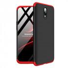 Husa OnePlus 6T GKK, Black-Red