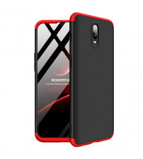 Husa OnePlus 6T GKK Full Cover 360, Black-Red