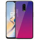 Husa OnePlus 6T Gradient Glass, Blue-Purple