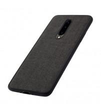 Husa OnePlus 7 Pro Denim Magnet TPU, Black