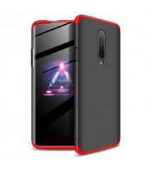 Husa OnePlus 7 Pro GKK Full Cover 360, Black-Red