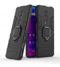 Husa OnePlus 7 Pro Magnet Slim Ring, Black