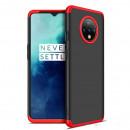 Husa OnePlus 7T GKK Full Cover 360, Black-Red