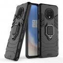 Husa OnePlus 7T Magnet Slim Ring, Black