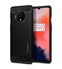 Husa OnePlus 7T originala SPIGEN Rugged Armor, Black
