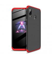 Husa Samsung A40 GKK Full Cover 360, Black-Red