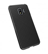 Husa Samsung Galaxy S10E Gel TPU Fiber, Black