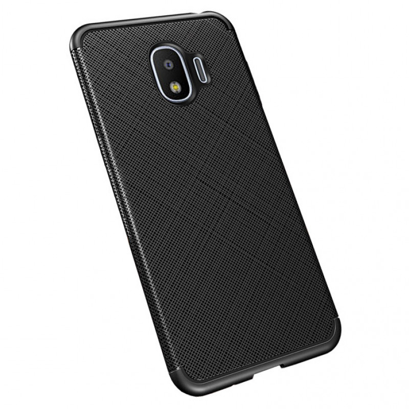 Husa Samsung Galaxy S10 Plus Gel TPU Fiber, Black
