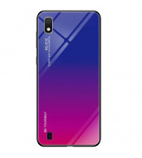 Husa Samsung Galaxy A10 Gradient Glass, Blue-Purple