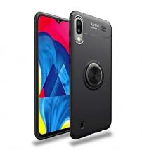 Husa Samsung Galaxy A10 Magnet Round Ring, Black