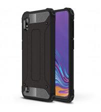 Husa Samsung Galaxy A10 Rigida Hybrid Shield, Black