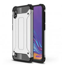 Husa Samsung Galaxy A10 Rigida Hybrid Shield, Silver