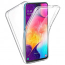 Husa Samsung Galaxy A70 TPU Full Cover 360 (fata+spate), Transparenta