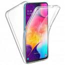 Husa Samsung Galaxy A20E TPU Full Cover 360 (fata+spate), Transparenta