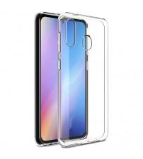 Husa Samsung Galaxy A20S Slim TPU, Transparenta