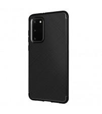 Husa Samsung Galaxy A21S Gel TPU Fiber, Black