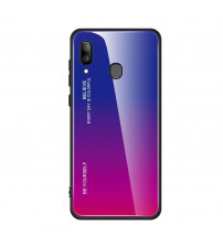 Husa Samsung Galaxy A40 Gradient Glass, Blue-Purple