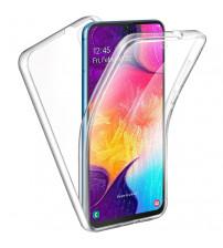 Husa Samsung Galaxy A10 TPU Full Cover 360 (fata+spate), Transparenta