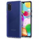Husa Samsung Galaxy A41 Slim TPU, Transparenta