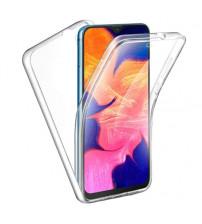 Husa Samsung Galaxy A41 TPU Full Cover 360 (fata+spate), Transparenta