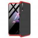 Husa Samsung Galaxy A50 GKK Full Cover 360, Black-Red