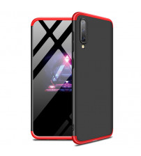 Husa Samsung Galaxy A70 GKK Full Cover 360, Black-Red