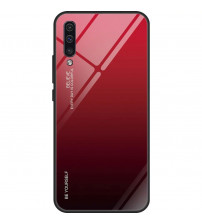 Husa Samsung Galaxy A50 Gradient Glass, Red-Black