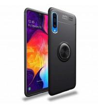 Husa Samsung Galaxy A50 Magnet Round Ring, Black