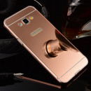 Husa Samsung Galaxy J6 Plus Oglinda Luxury, Rose Gold