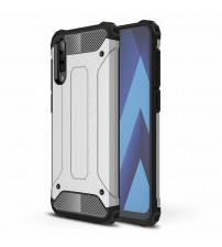 Husa Samsung Galaxy A50 Rigida Hybrid Shield, Silver