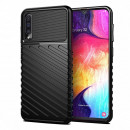 Husa Samsung Galaxy A50 Thunder Rugged TPU, Black
