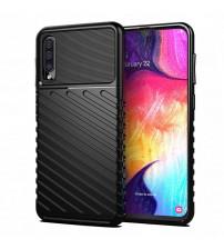 Husa Samsung Galaxy A50 Thunder Rugged TPU, Black