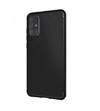 Husa Samsung Galaxy A51 Gel TPU Fiber, Black
